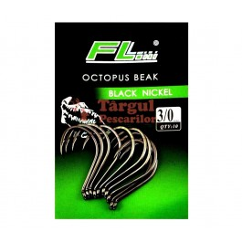 Ace / Carlige FL Black Nickel Octopus Beak