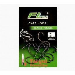 Ace/Cârlige Carp FL Black Nickel