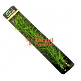 Set Doua Lini / Monturi Fibra Impletita FL Weed Lock