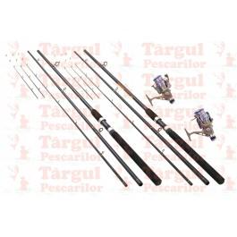 Set 2 Lansete Feeder 3.6m Delta Cu 2 Mulinete Wind Blade DX 50