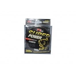 Fir monofilament SUPER POWER CAMOU 300M