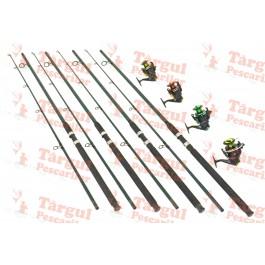 Set 4 lansete Power 3m cu 4 mulinete QFB6000 6 rulmenti